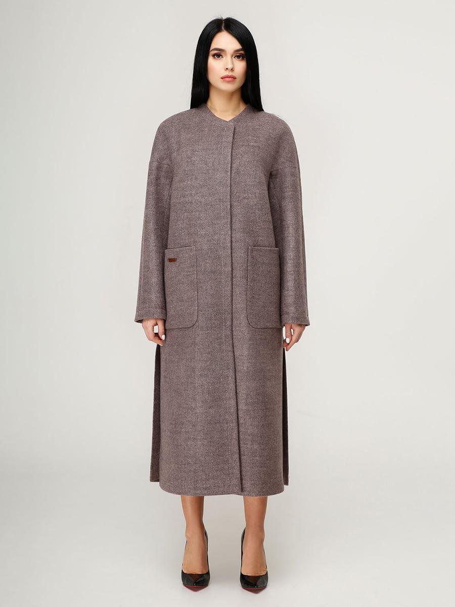 Пальто бузкове | 4949915