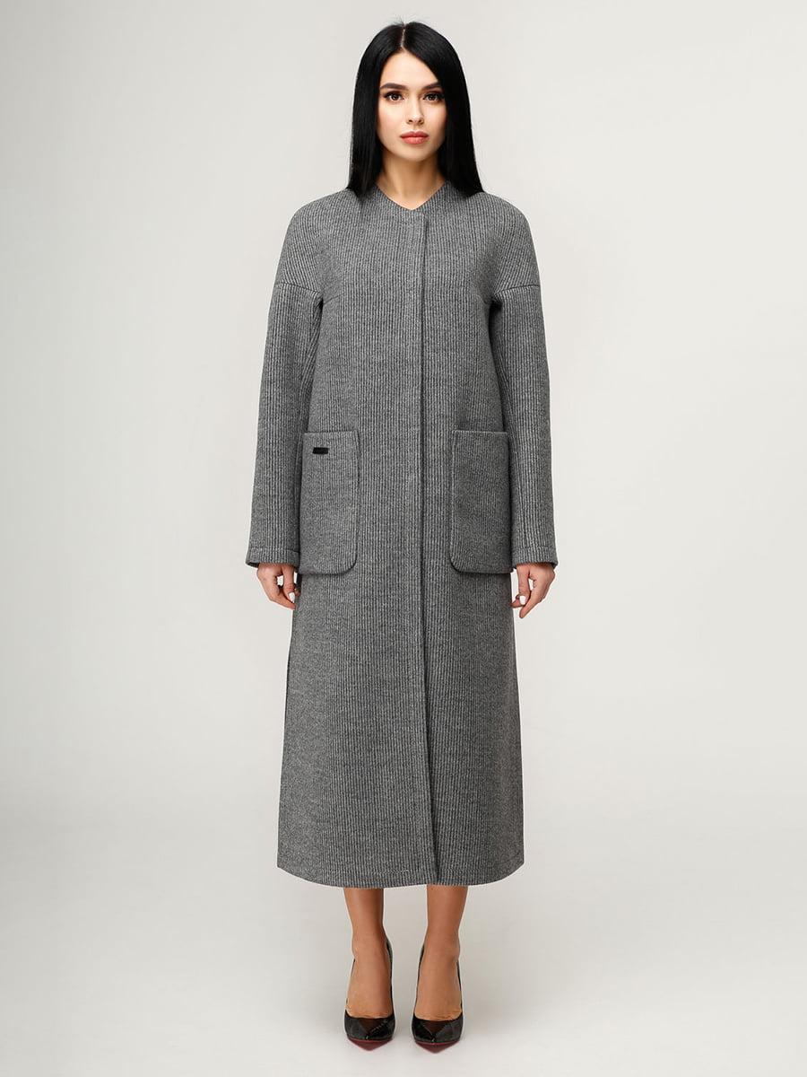 Пальто темно-серое | 4949920