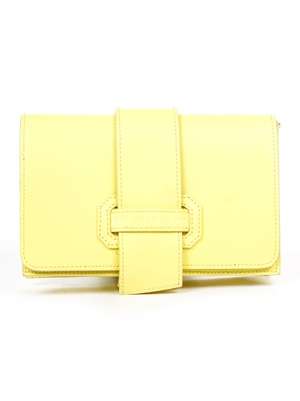 Клатч лимонного кольору | 4920571