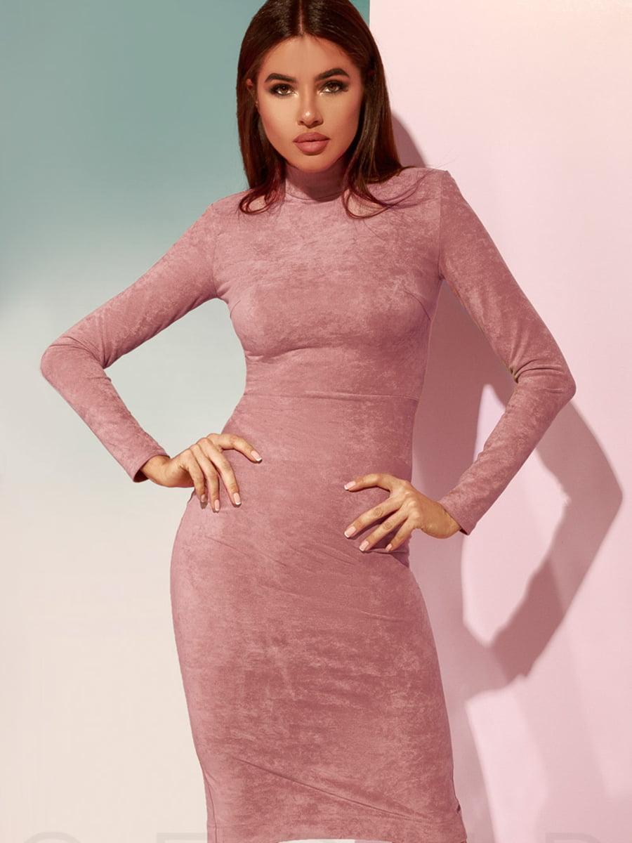 Сукня кольору пудри   4900927