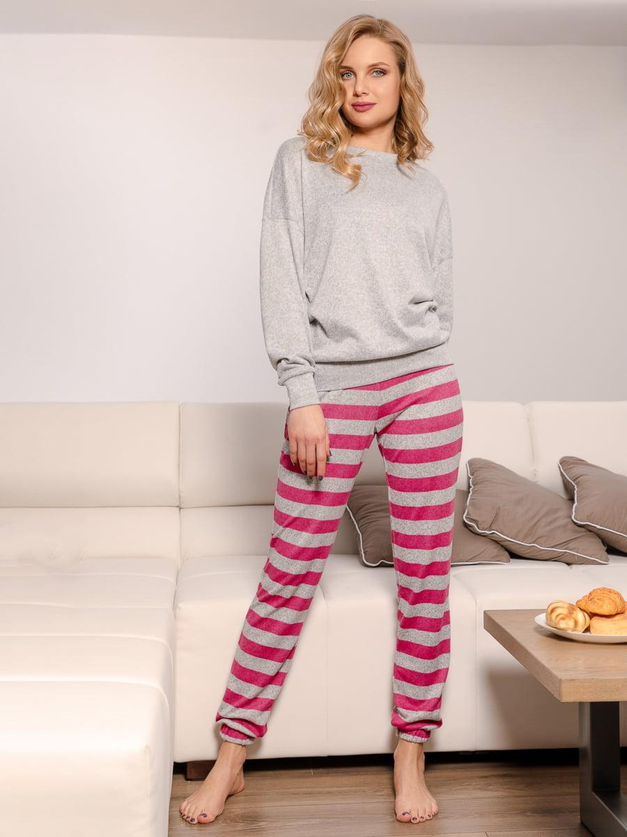 Пижама: свитшот и брюки | 4913363