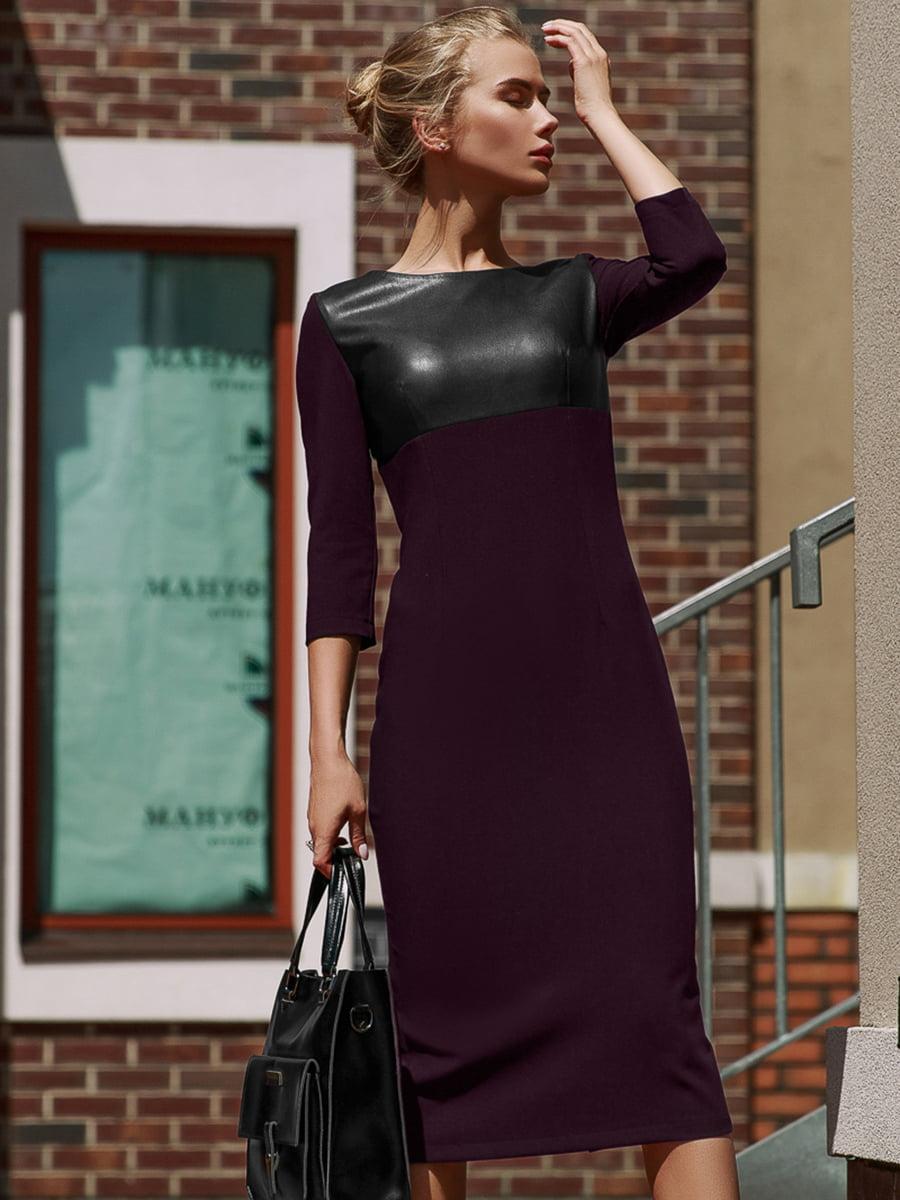 Платье цвета бургунди   4949256
