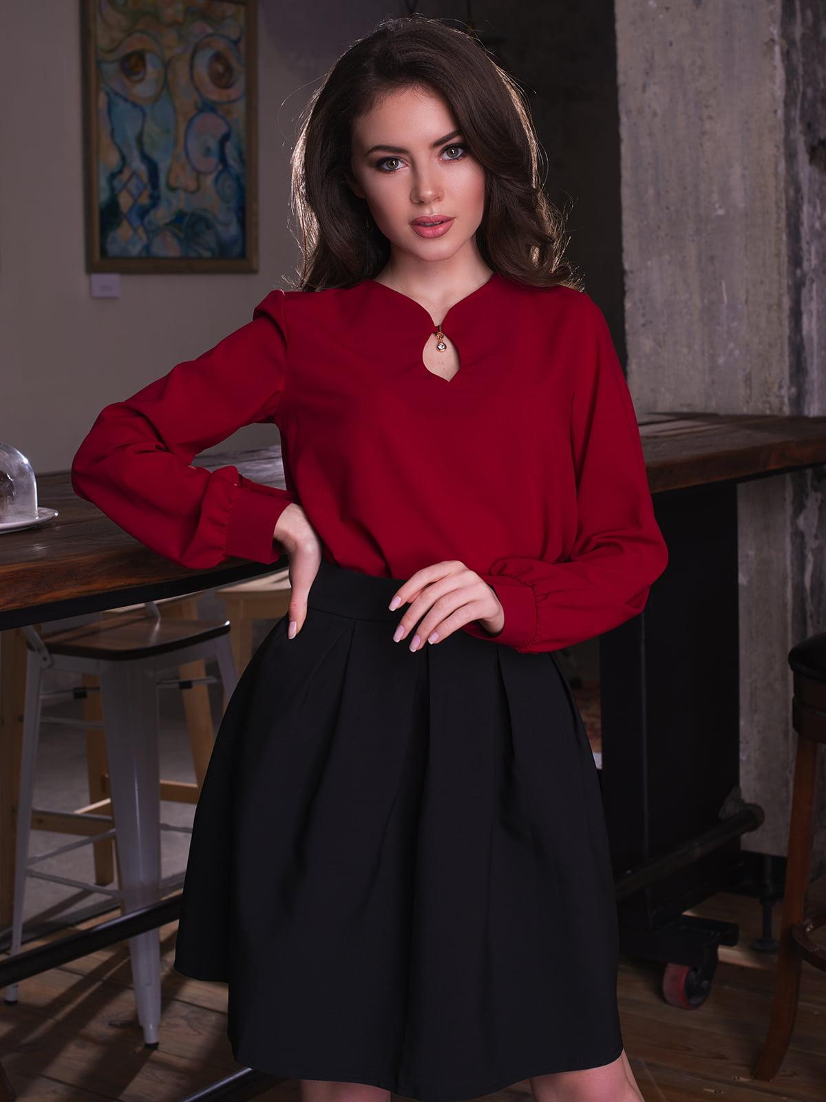 Блуза бордова   3064318