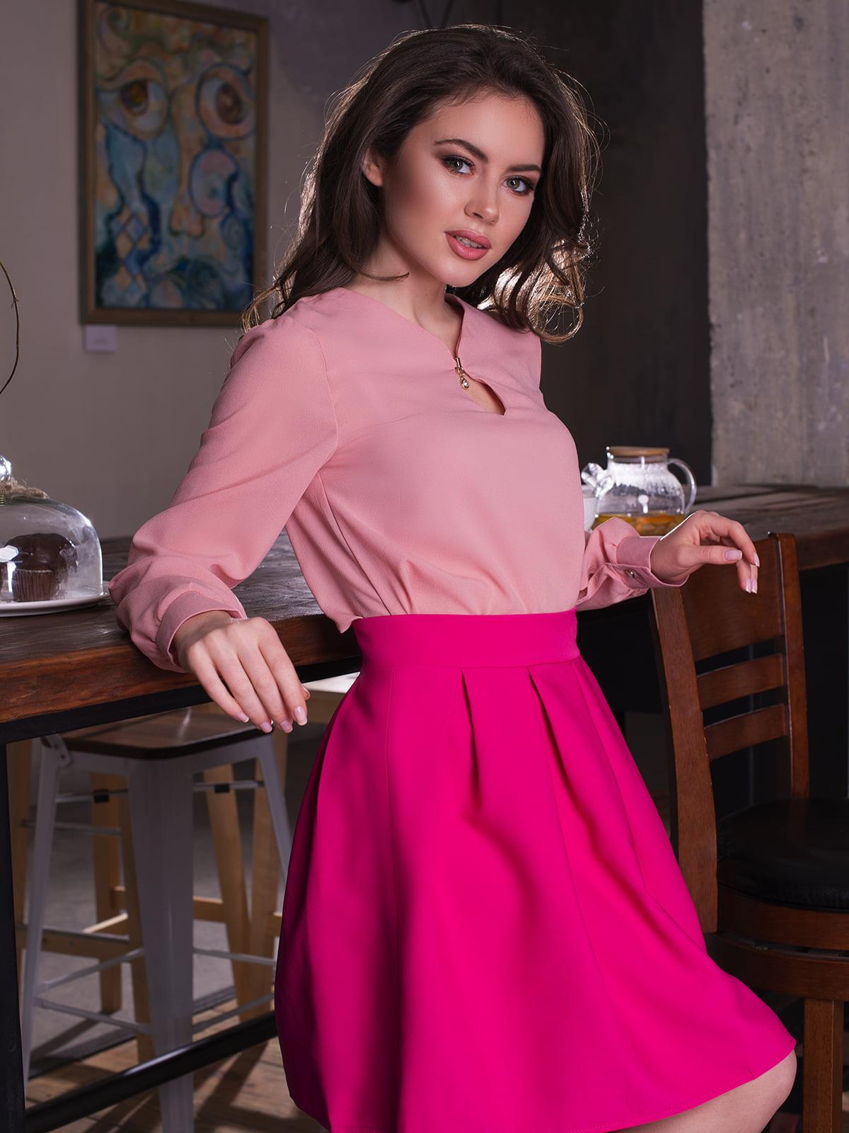 Блуза цвета пудры   3120574
