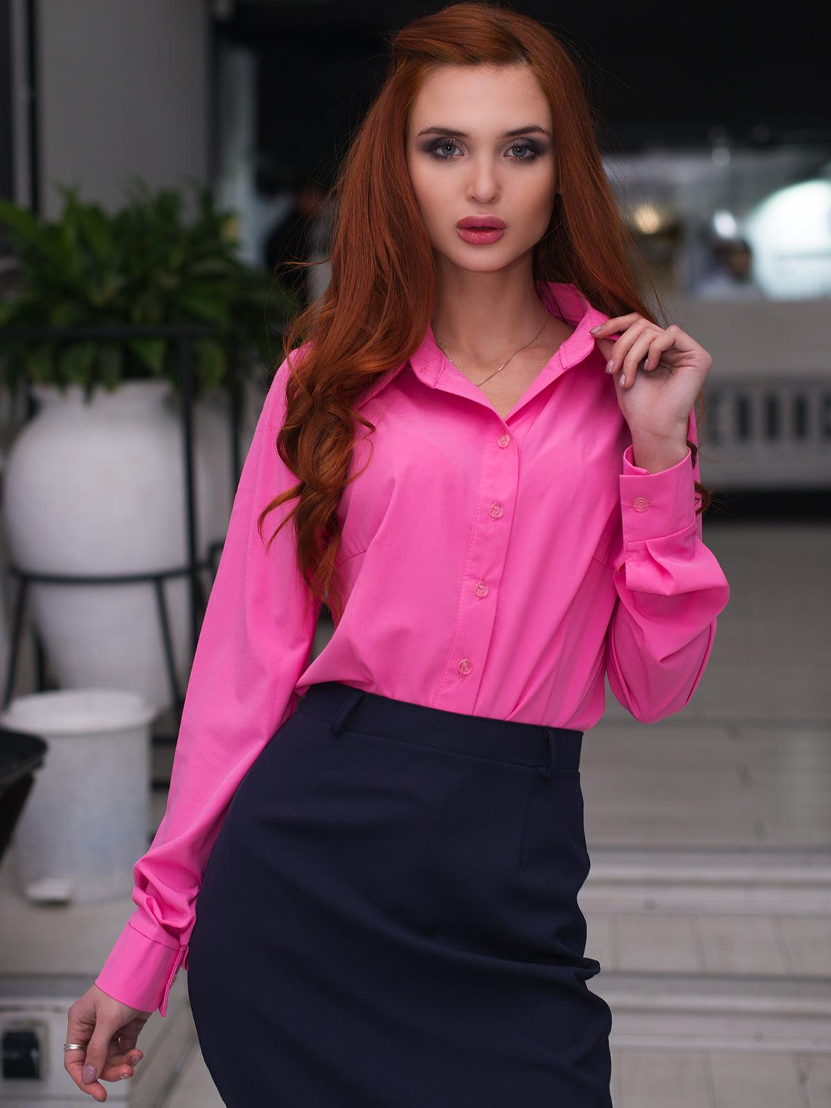 Рубашка малиновая | 3120576