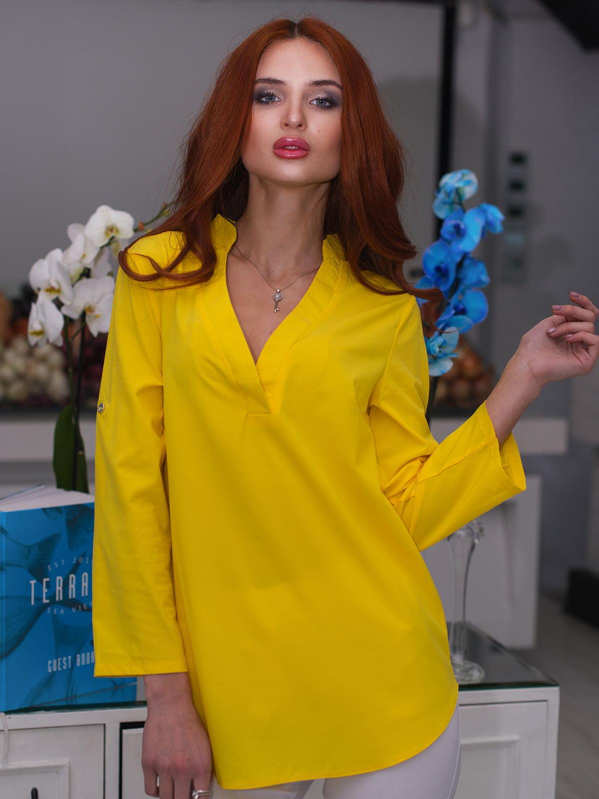 Блуза желтая | 3171779