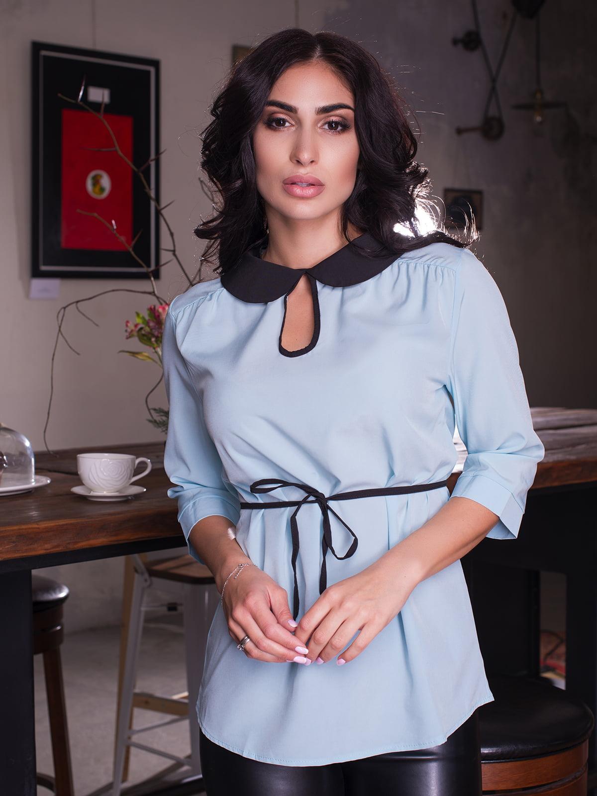 Блуза блакитна   4613547