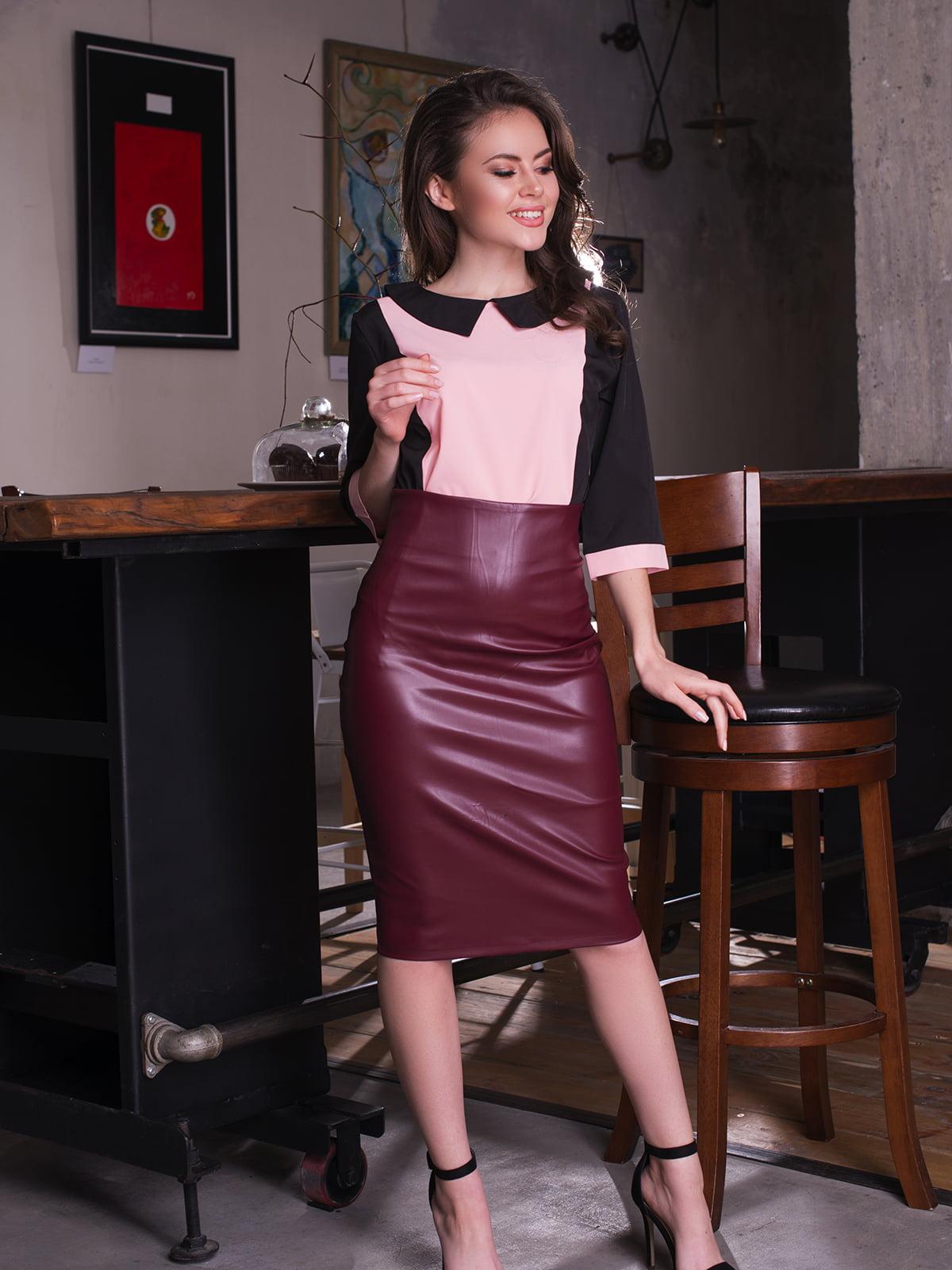 Блуза двухцветная | 4613552