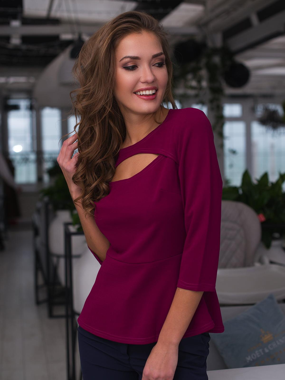 Блуза кольору фуксії | 4613600