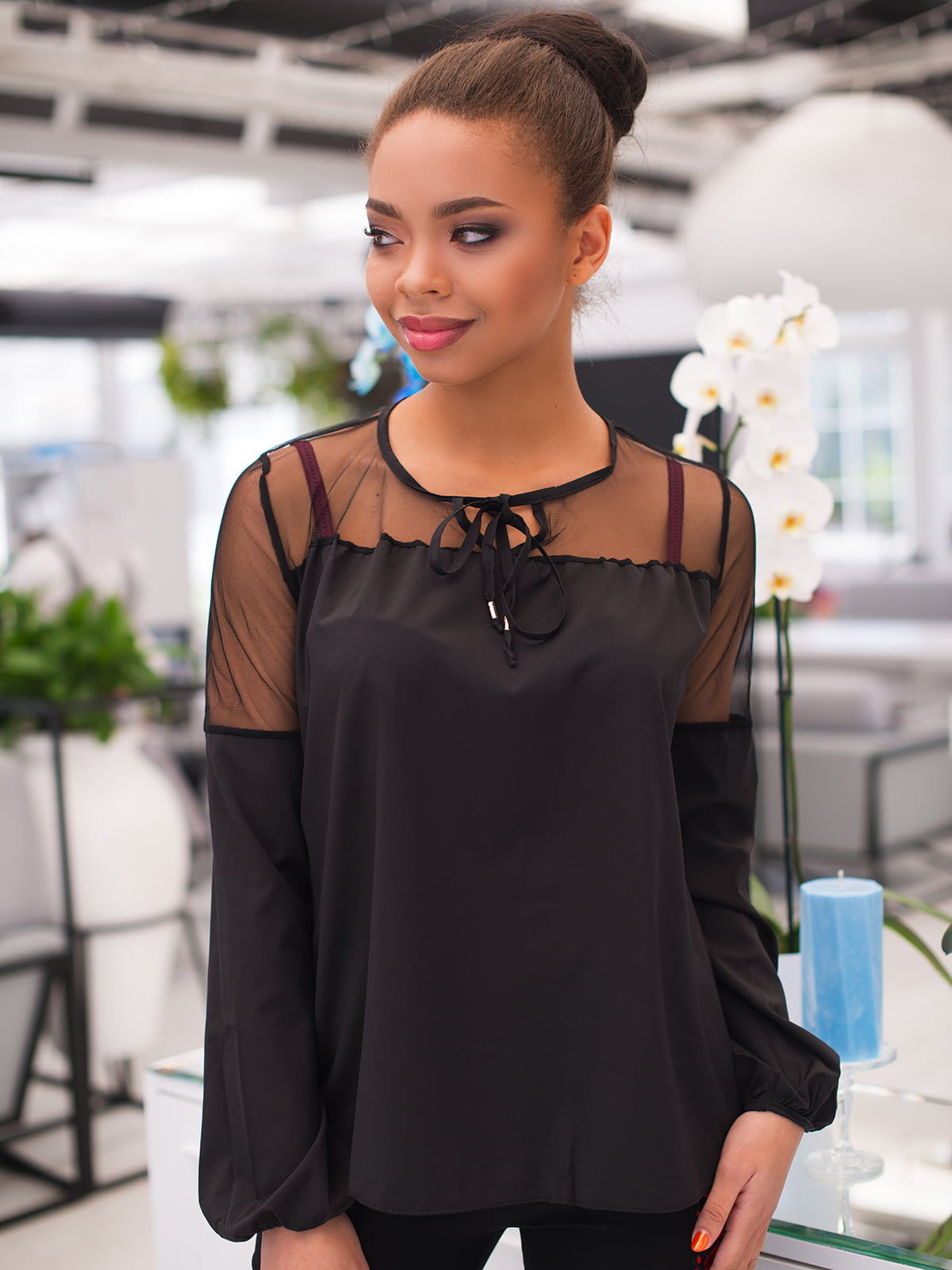 Блуза чорна   4613786