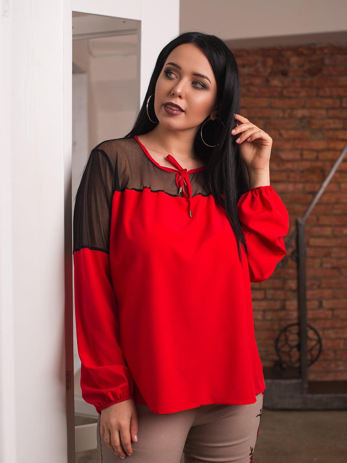 Блуза красная | 4613987