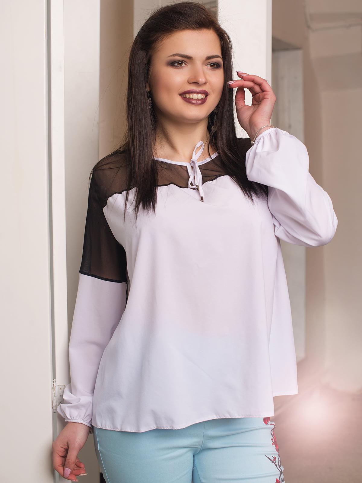 Блуза белая   4613993