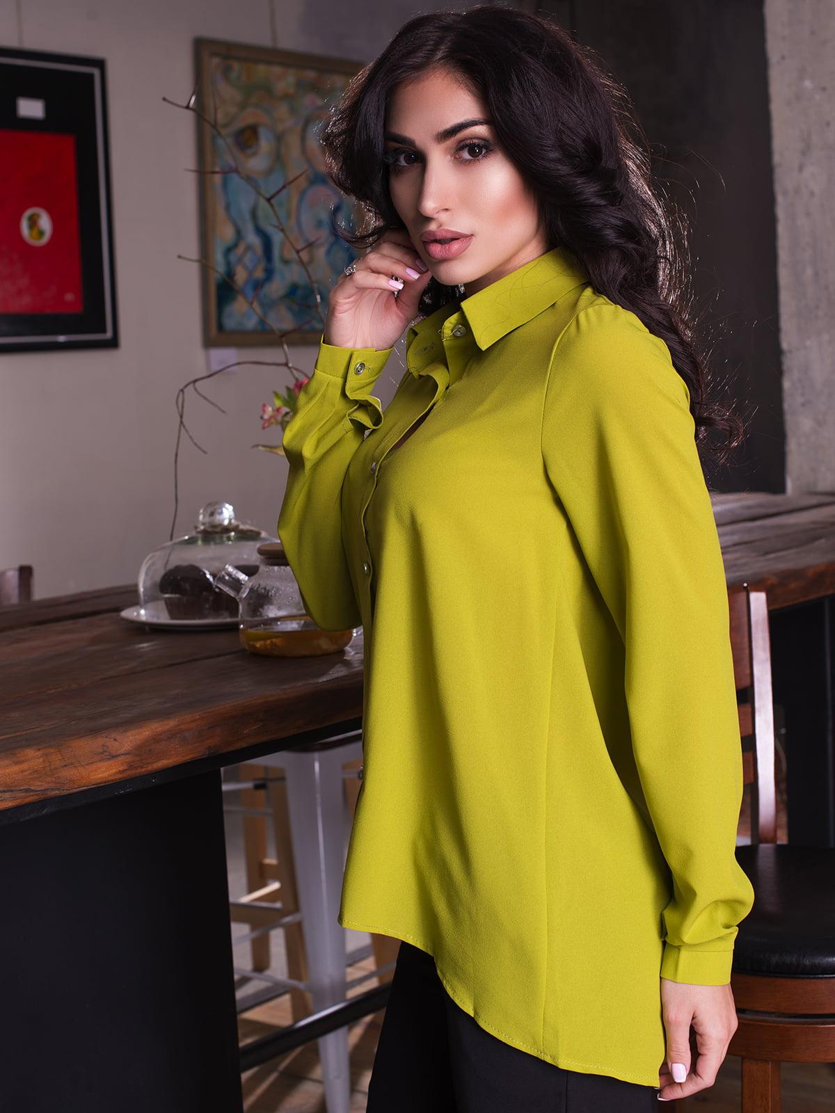 Сорочка оливкового кольору | 4615590