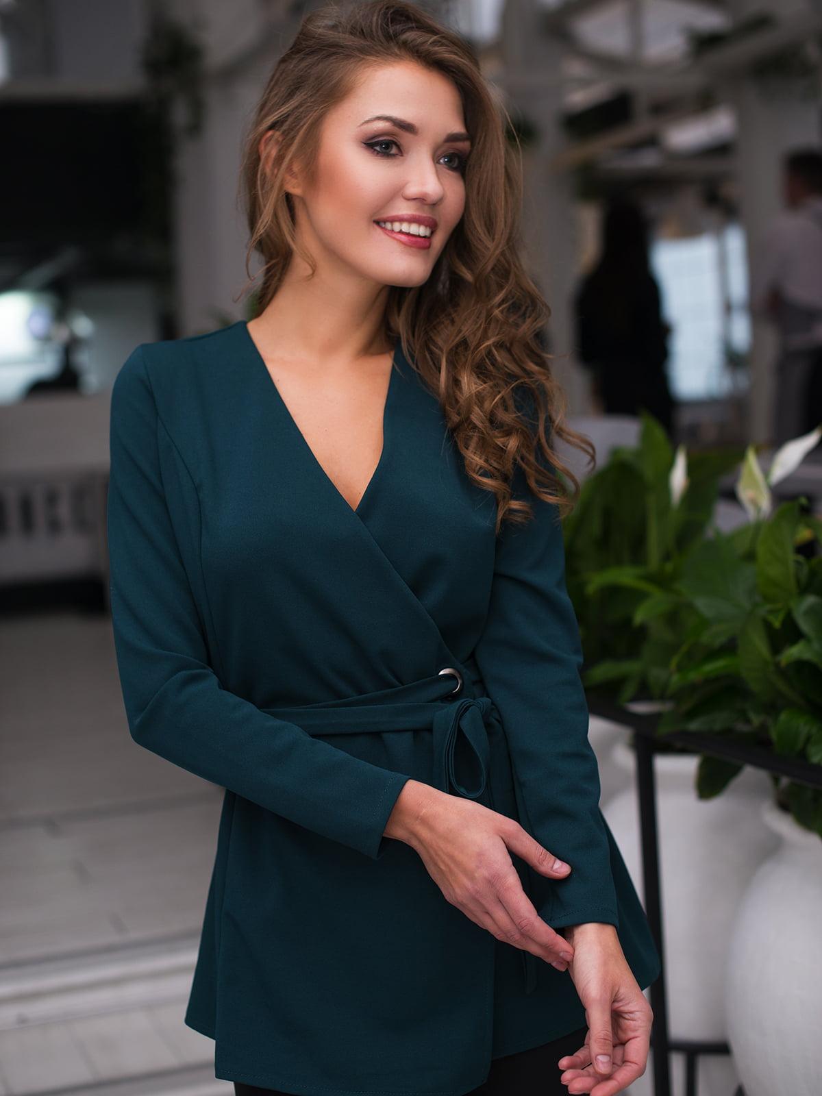 Блуза зелена | 4669734