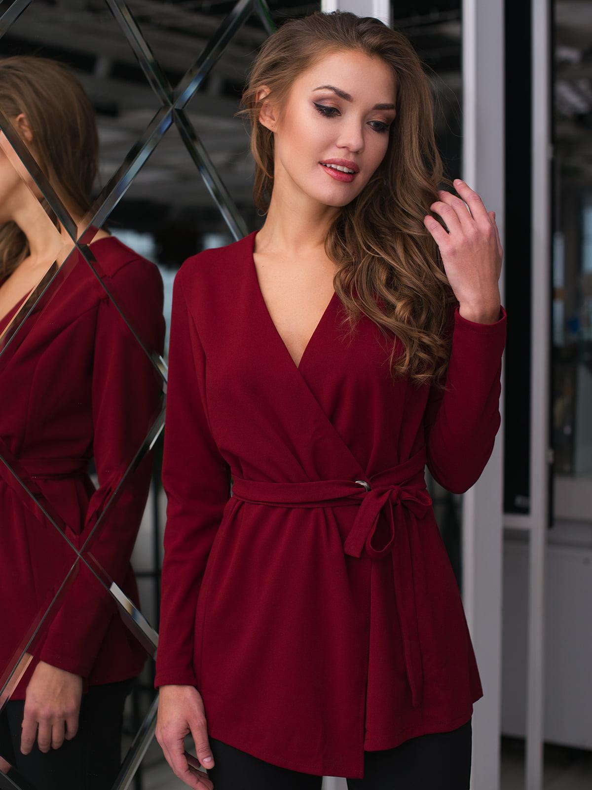Блуза бордова   4669735