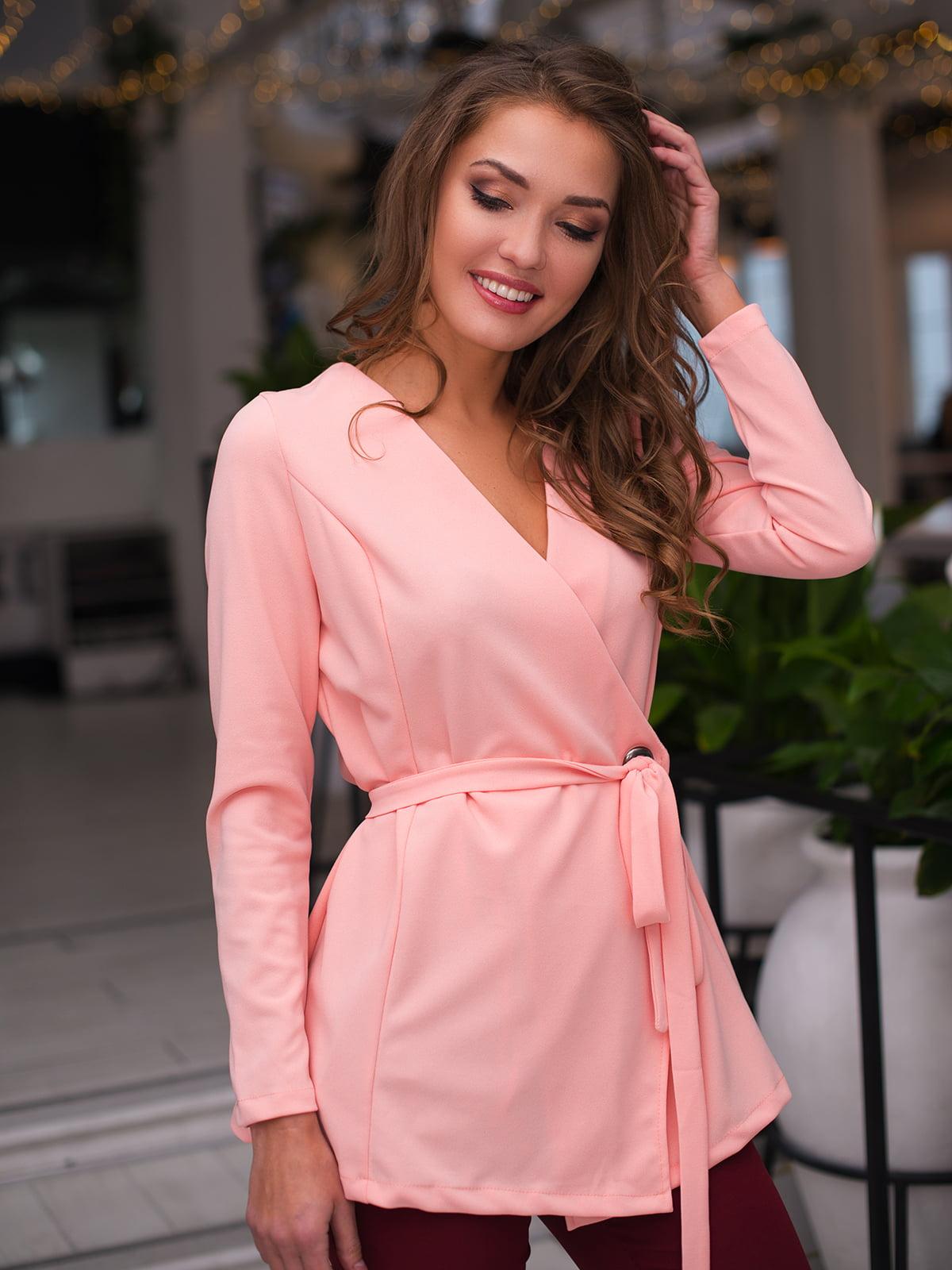 Блуза рожева | 4669737