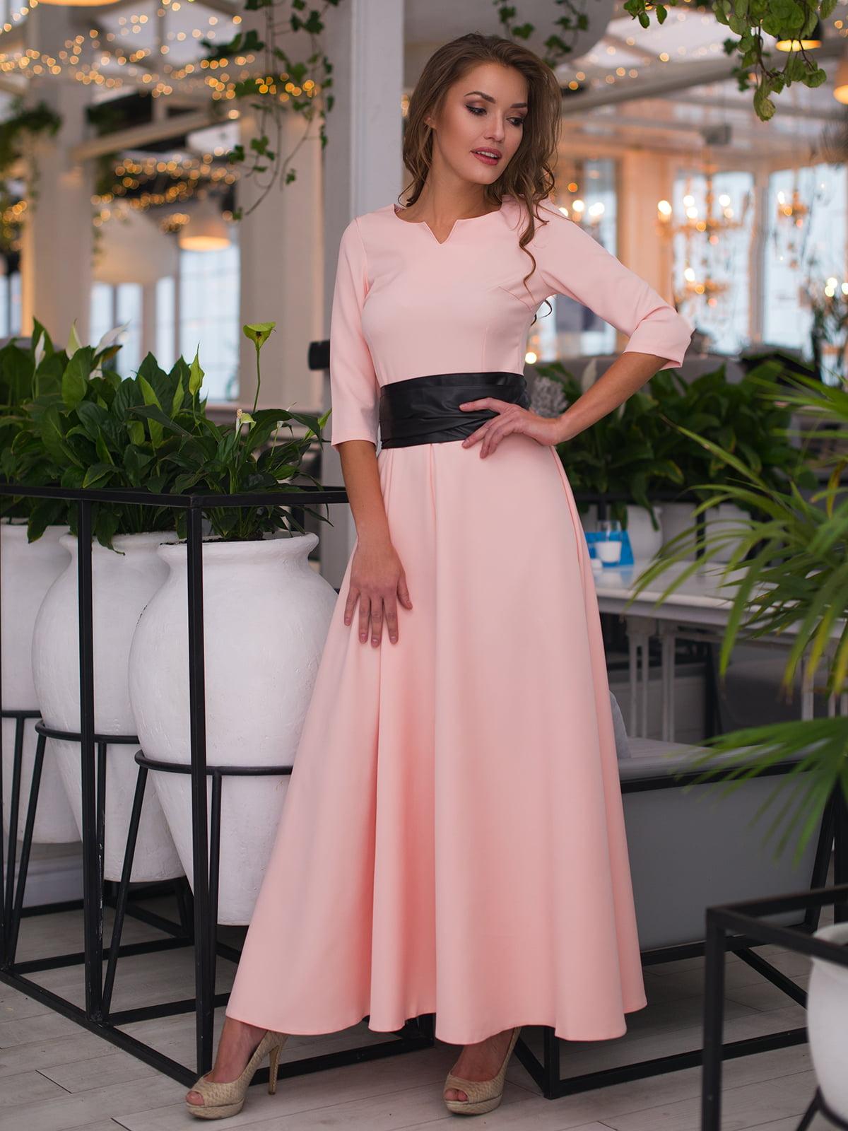 Сукня пудрового кольору | 4778537