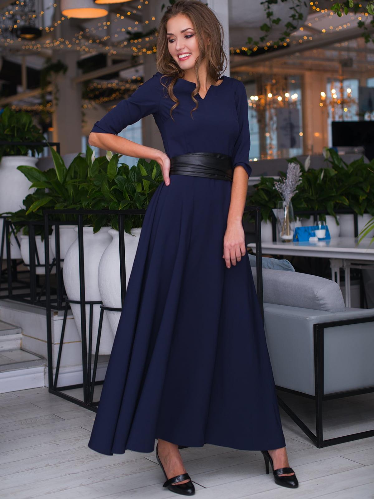 Сукня темно-синя | 4778538