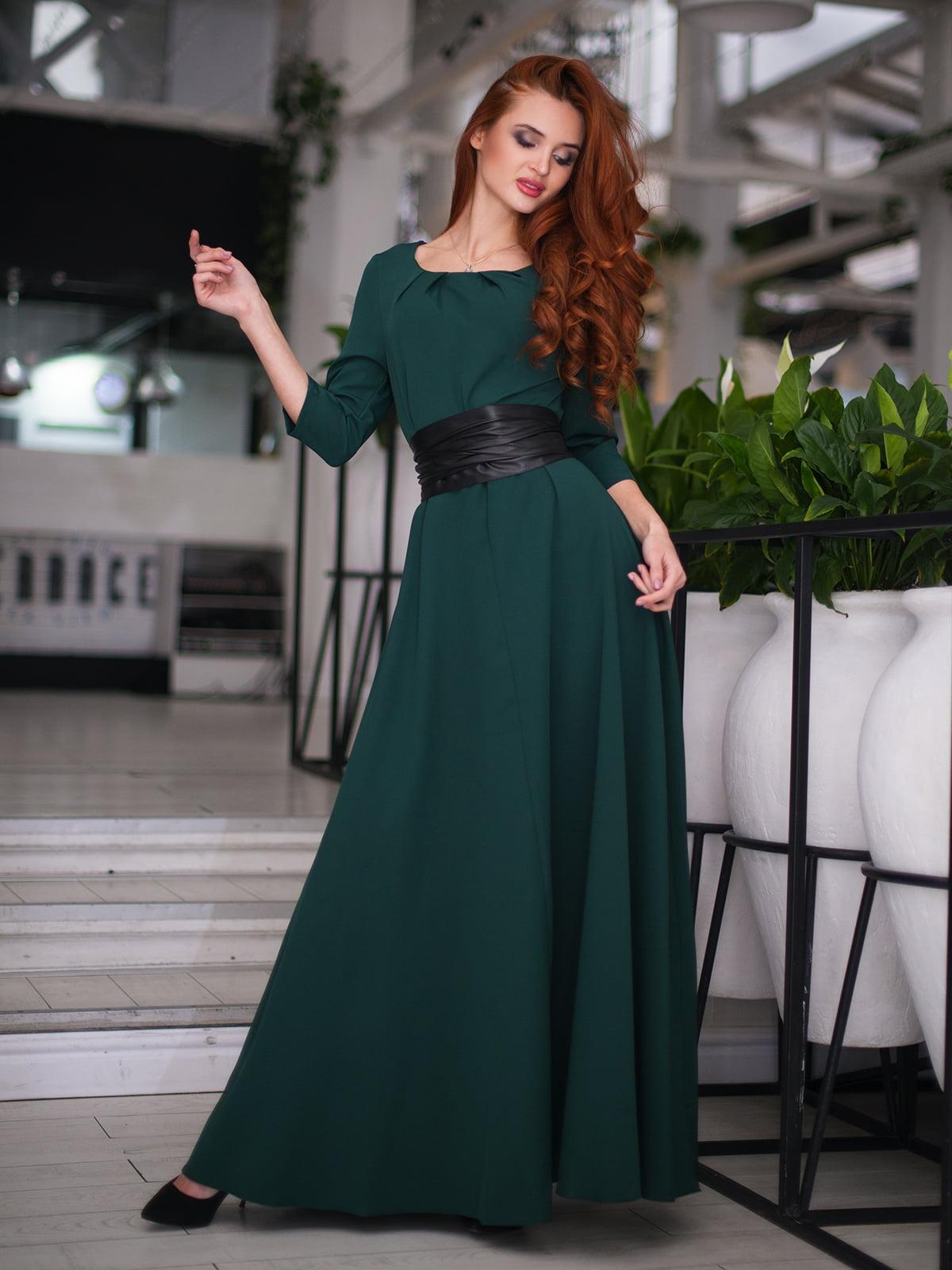 Сукня темно-зелена | 4778550