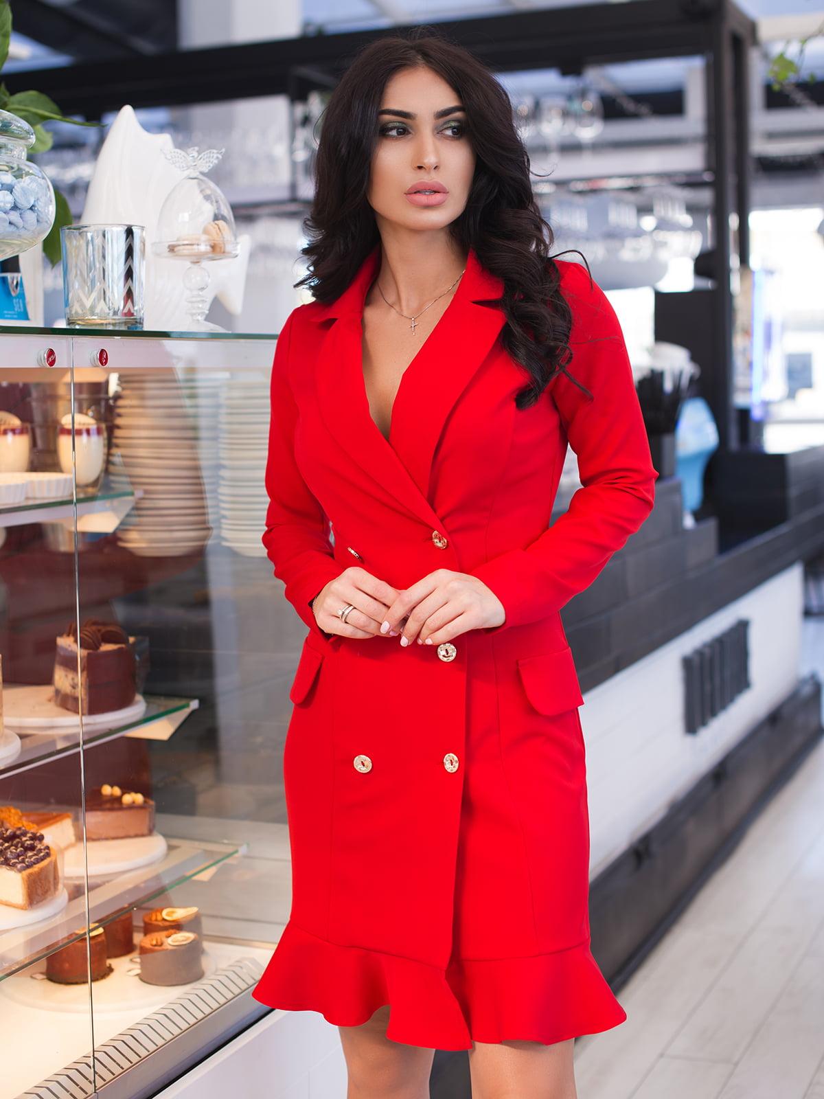 Сукня червона | 4950193