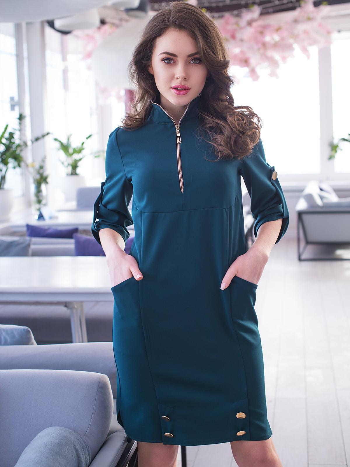 Сукня темно-зелена | 4950234