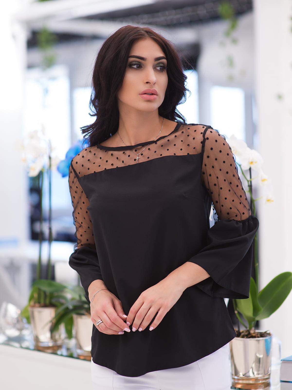 Блуза чорна | 4950247