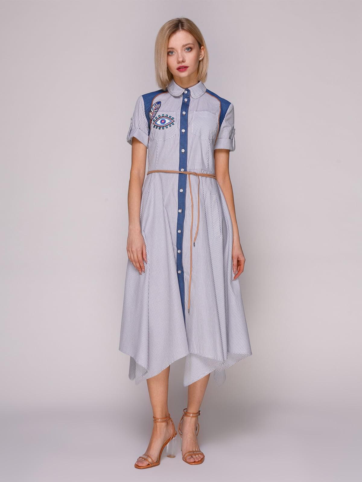 Платье в клетку | 4914604