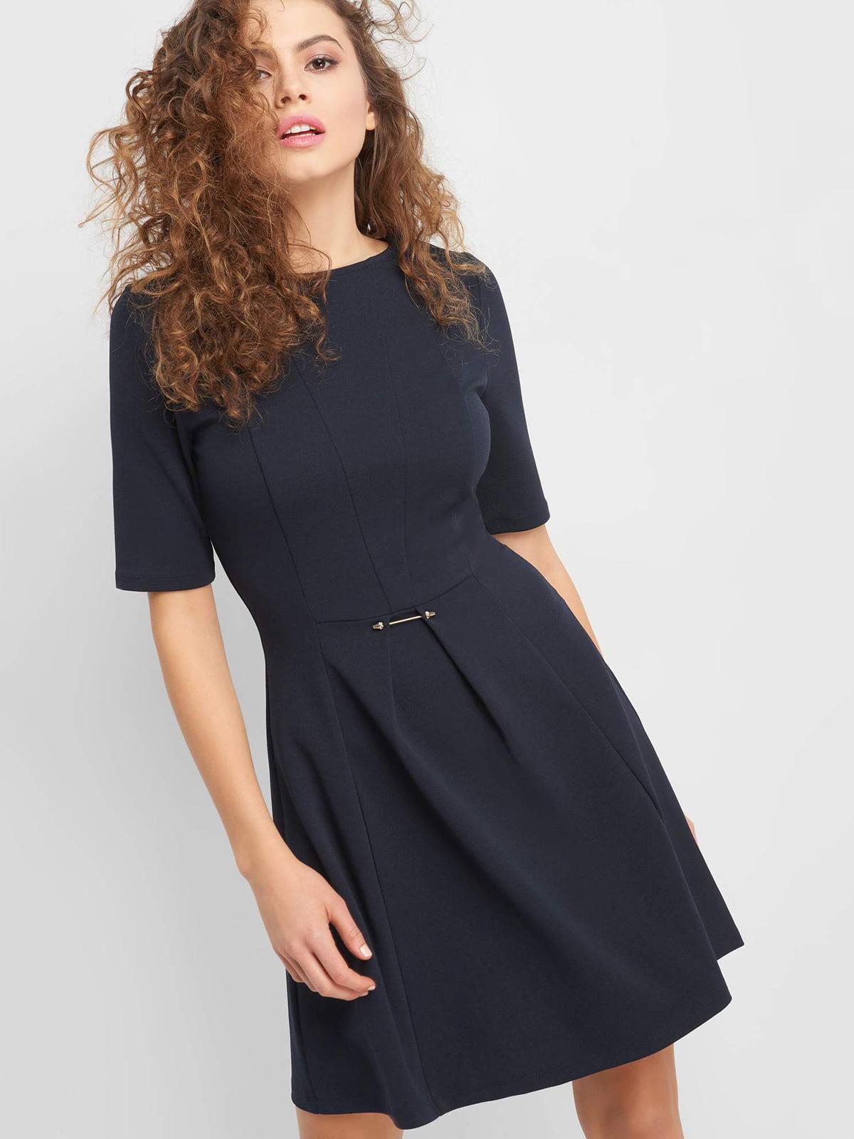 Платье синее | 4918635
