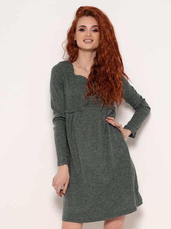 Платье серое | 4950844