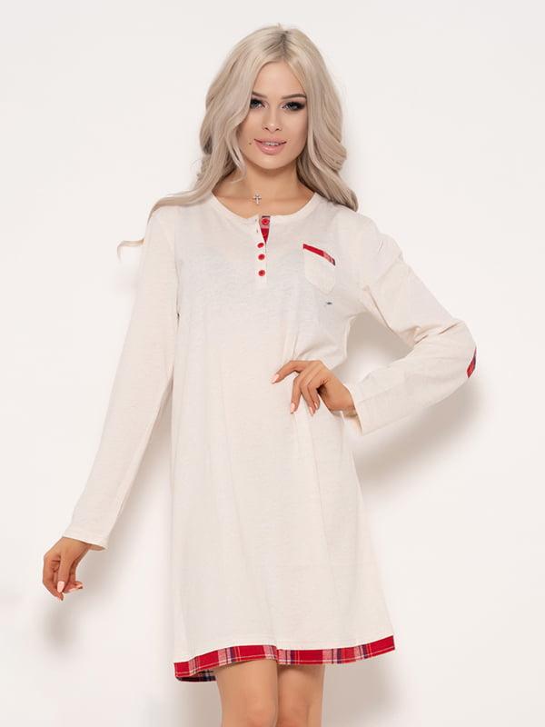 Платье молочного цвета   4950897