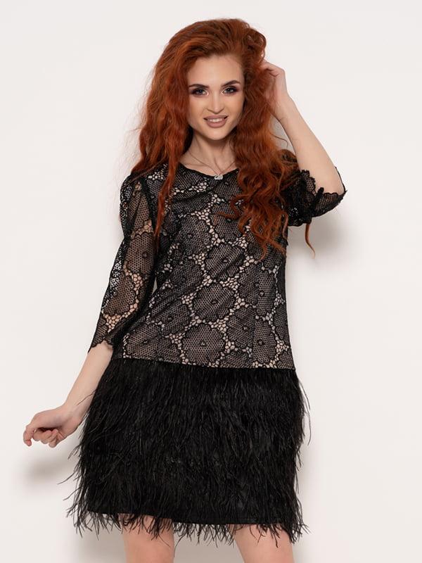 Платье черное | 4950946