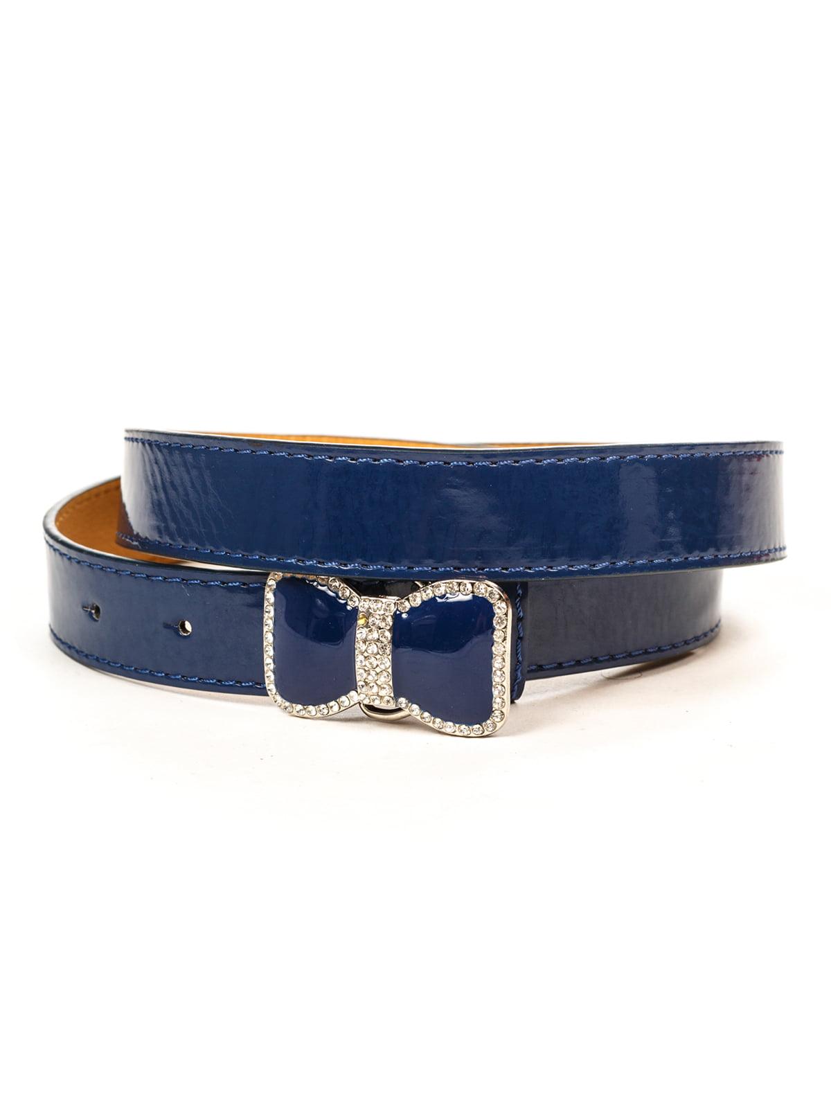 Ремінь синій | 4781538