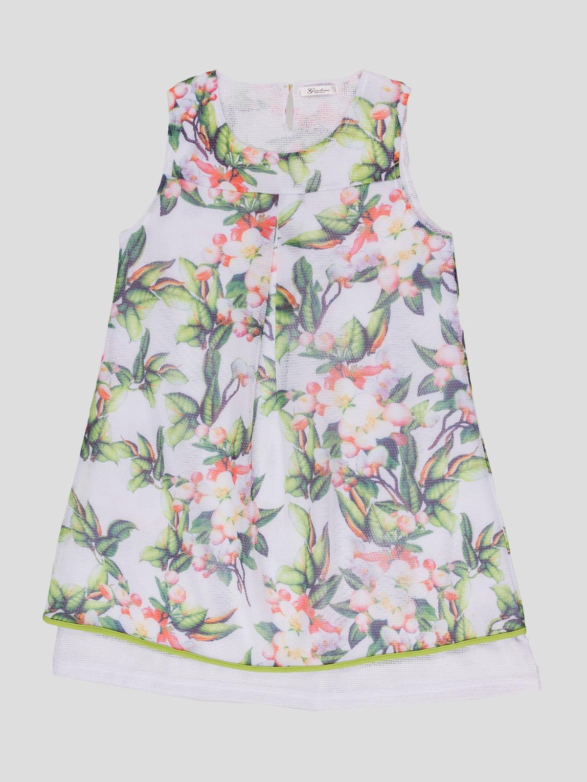 Сукня в квітковий принт   4781187