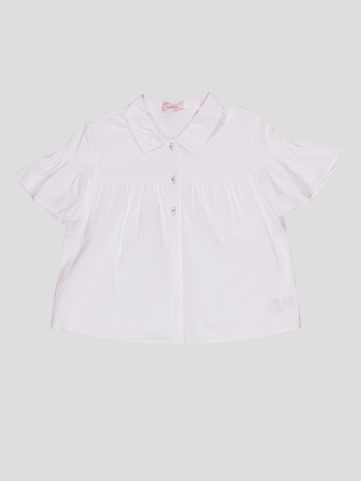 Блуза біла | 4781141