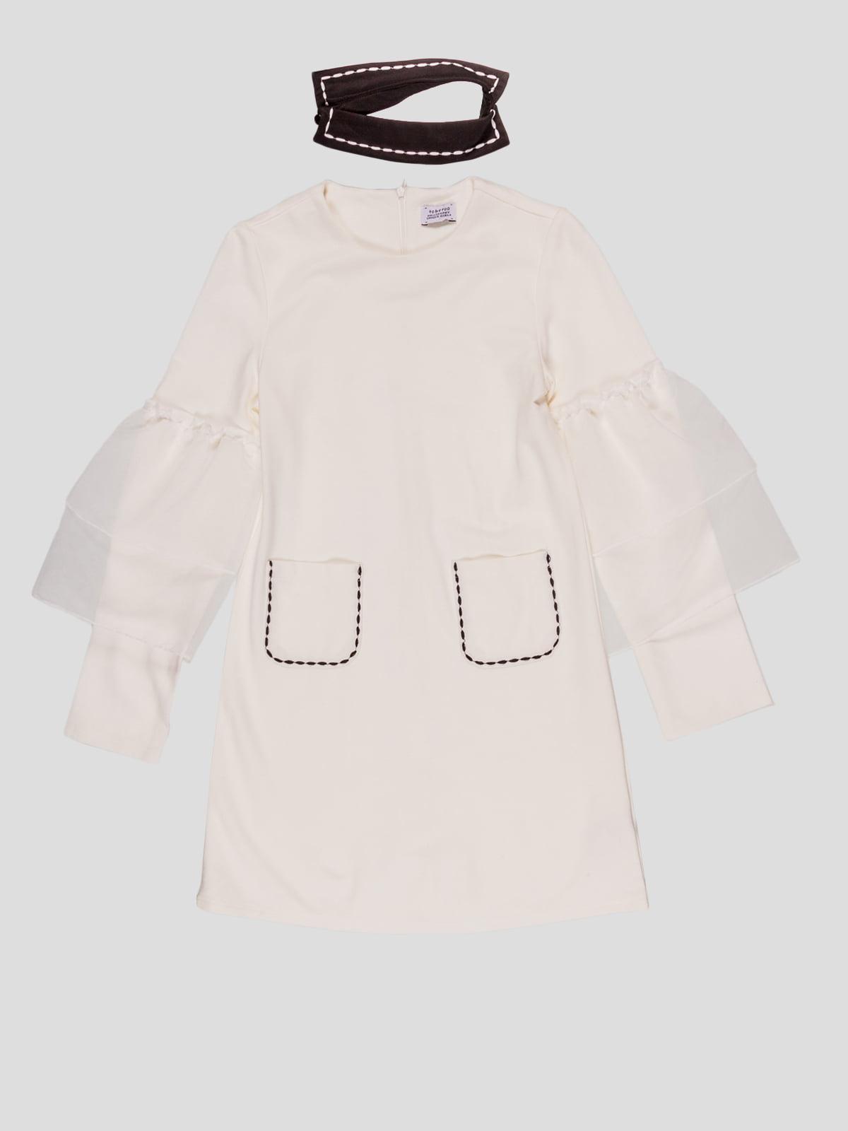 Сукня молочного кольору | 4781608