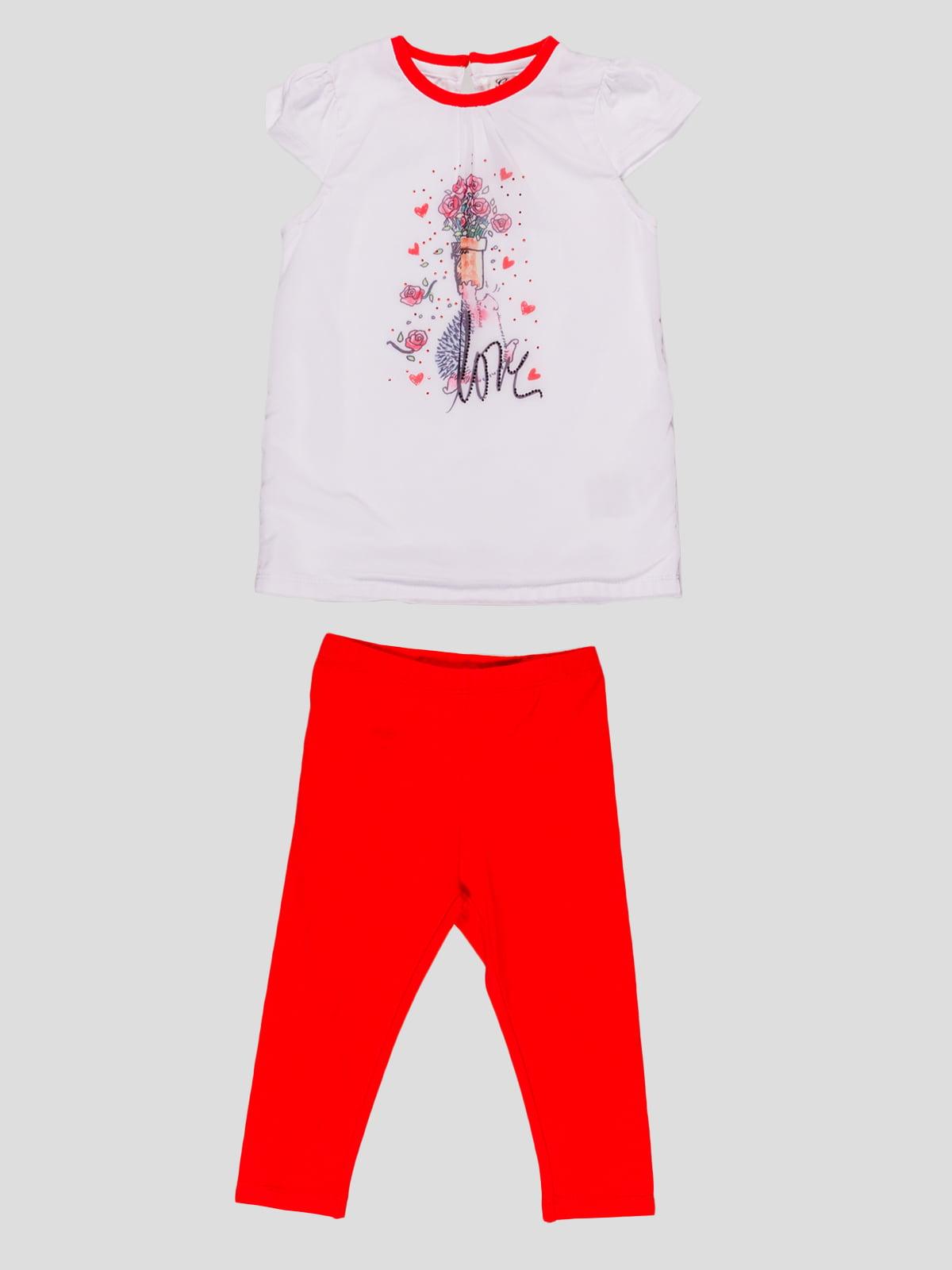 Комплект: штани і футболка   4781452