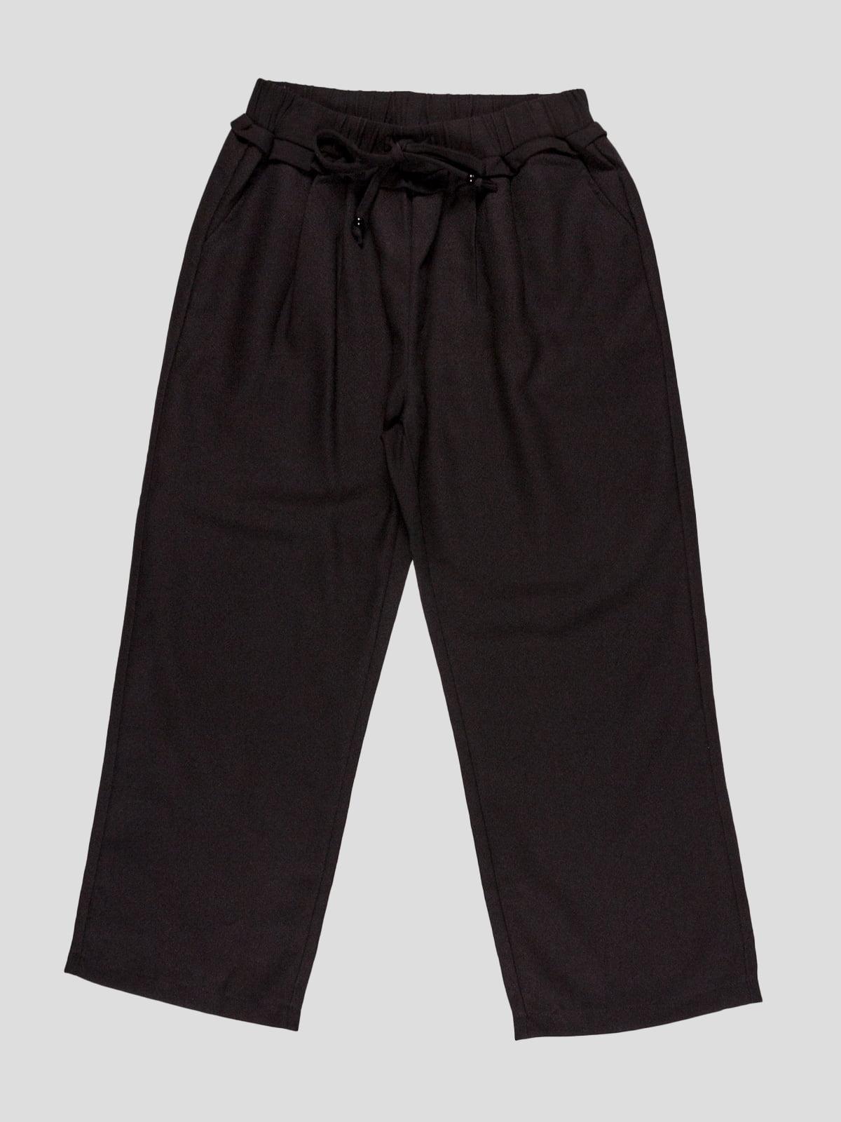 Штани чорні | 4781149