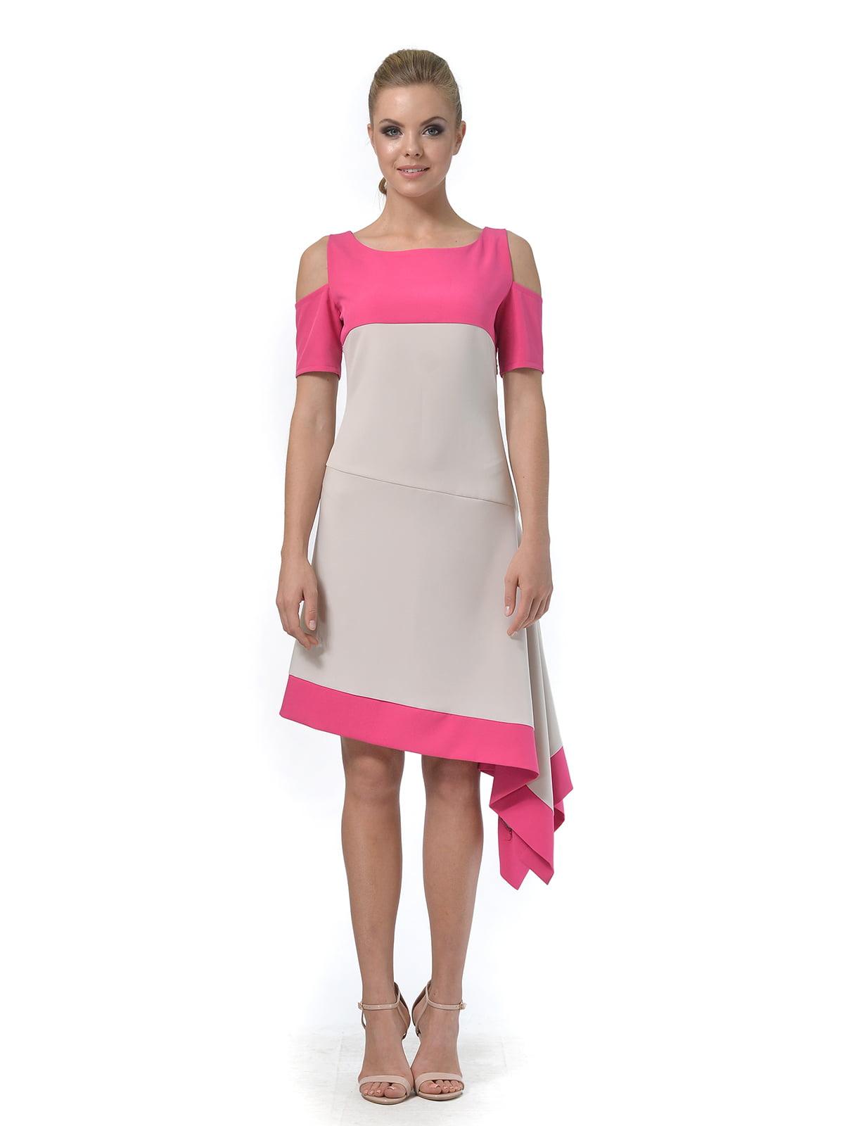 Платье двухцветное   4090706   фото 5