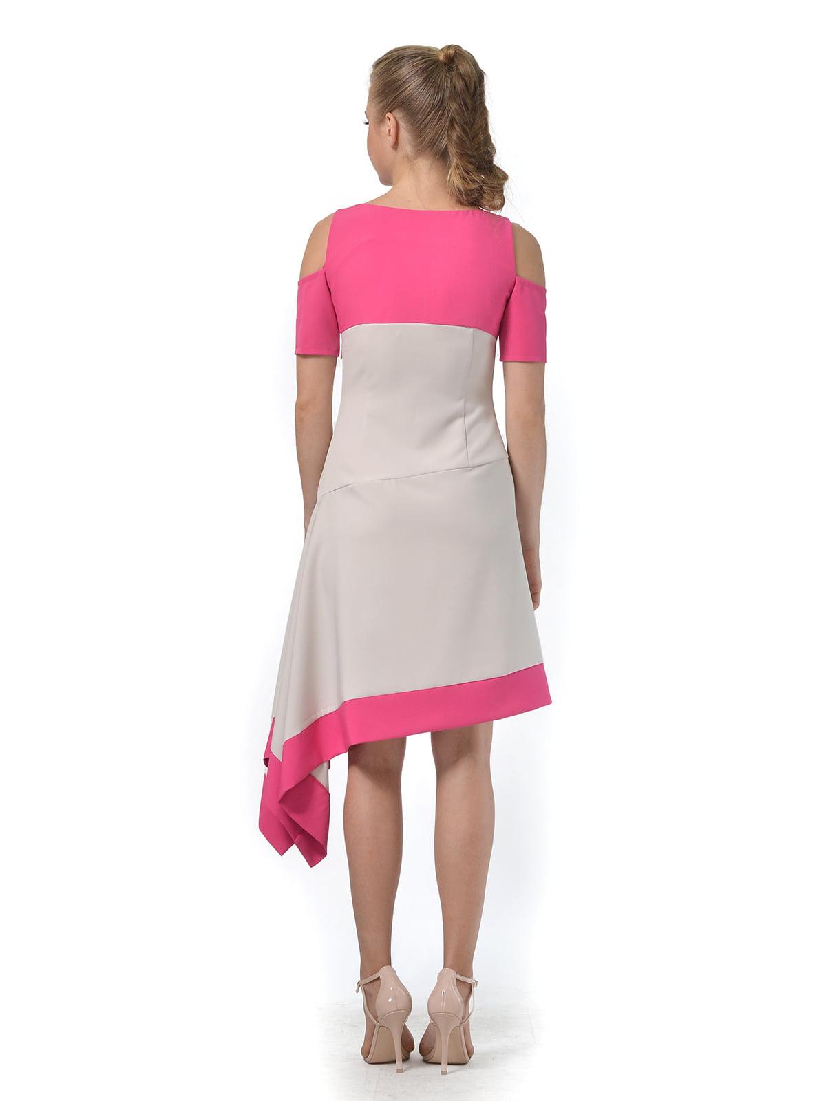 Платье двухцветное   4090706   фото 6