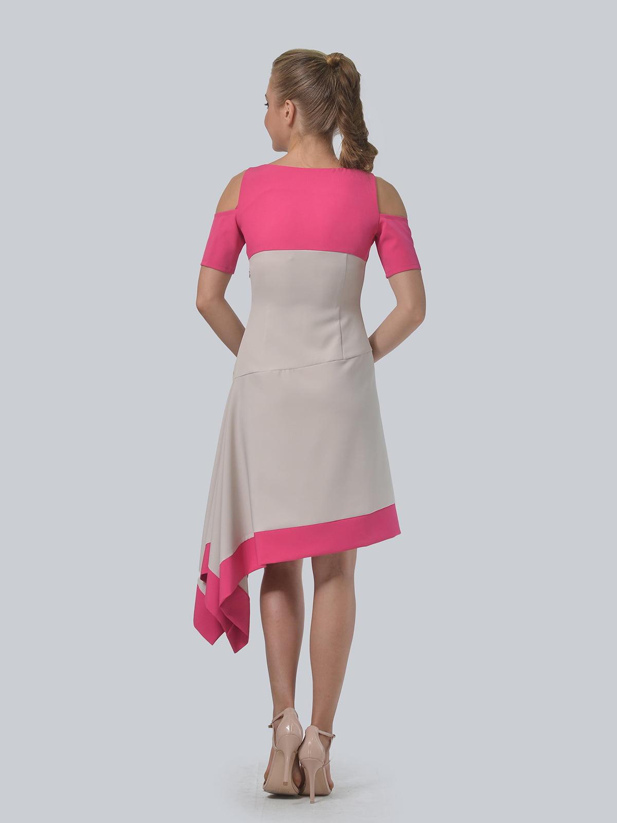 Платье двухцветное   4090706   фото 9