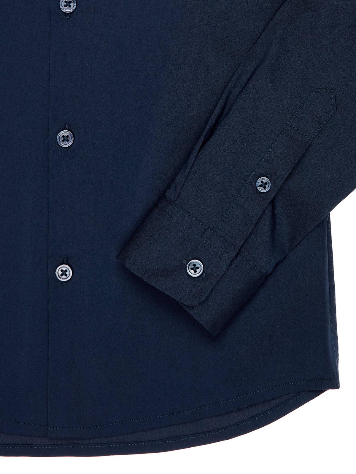 Сорочка темно-синя | 4910516 | фото 4