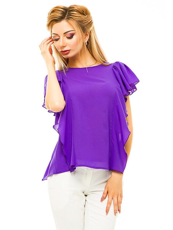 Блуза фиолетовая   4655539