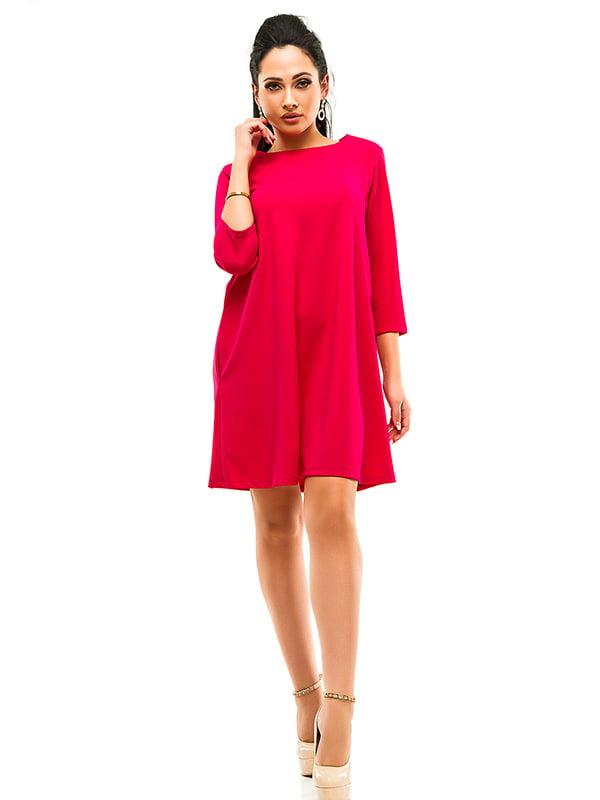 Сукня малинового кольору | 4655610