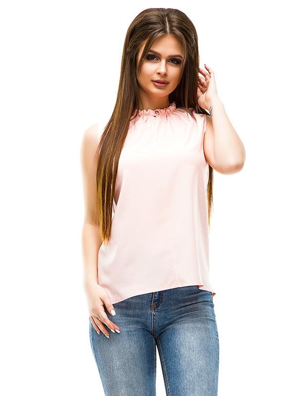 Блуза кольору пуди | 4655627