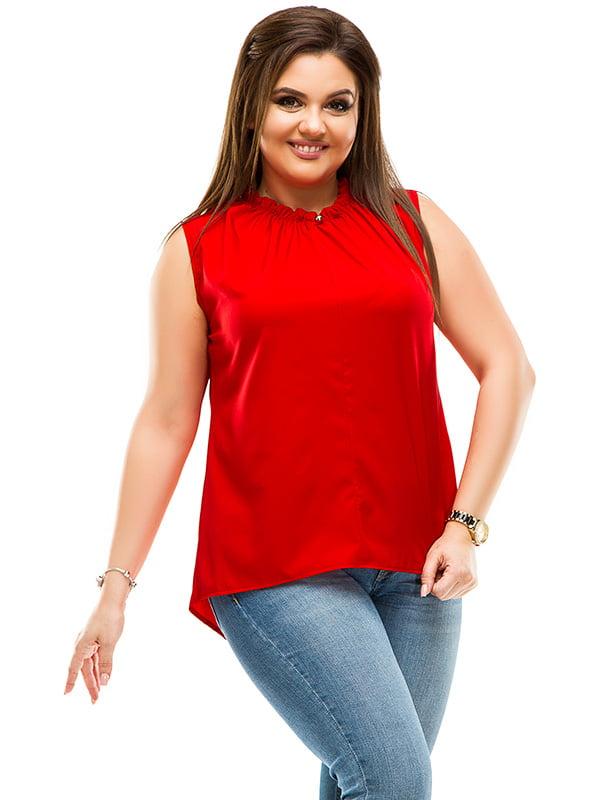 Блуза червона | 4770555