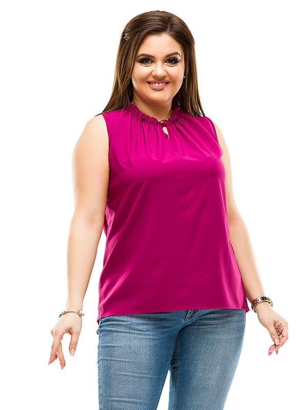 Блуза кольору фуксії | 4770558