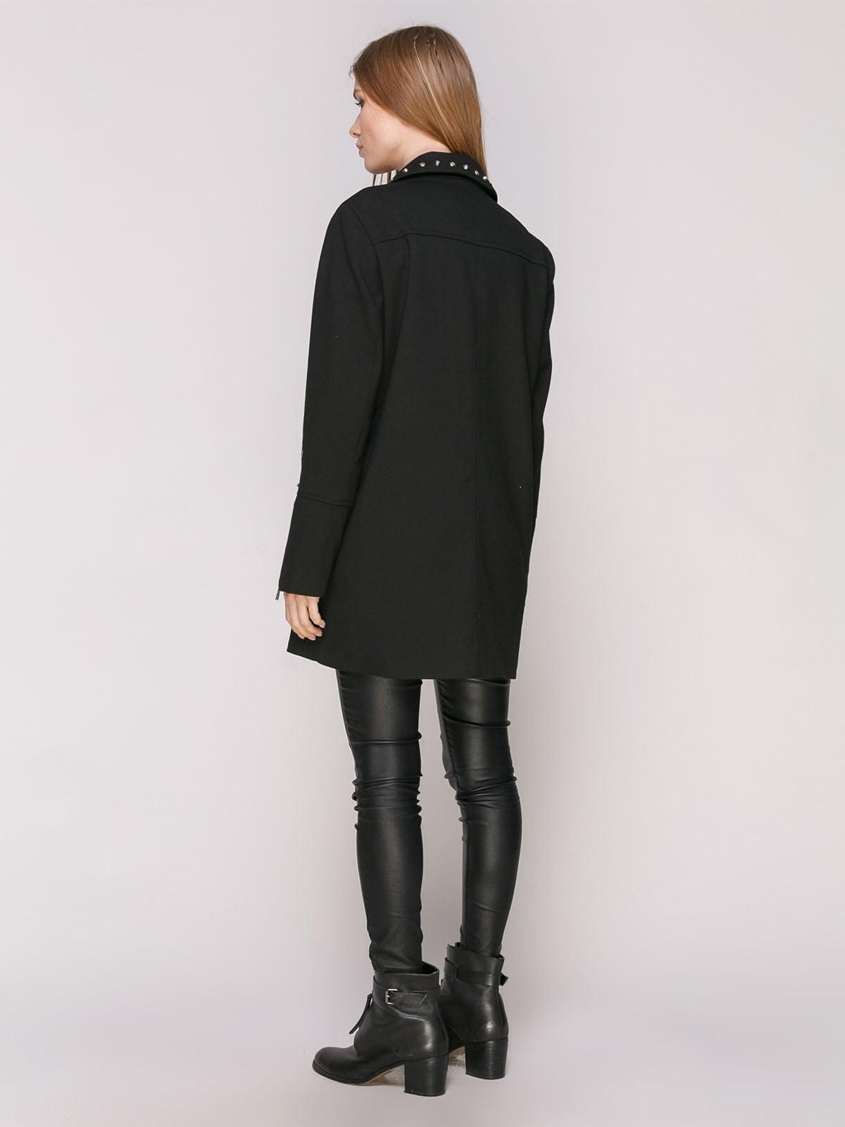 Пальто черное | 4874379 | фото 3