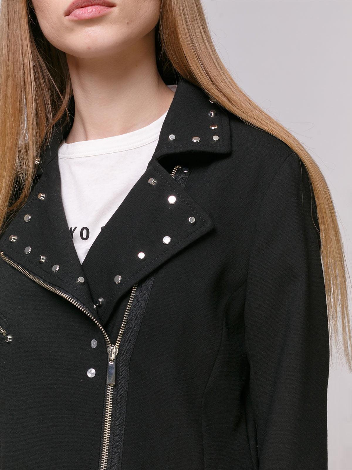 Пальто черное | 4874379 | фото 4