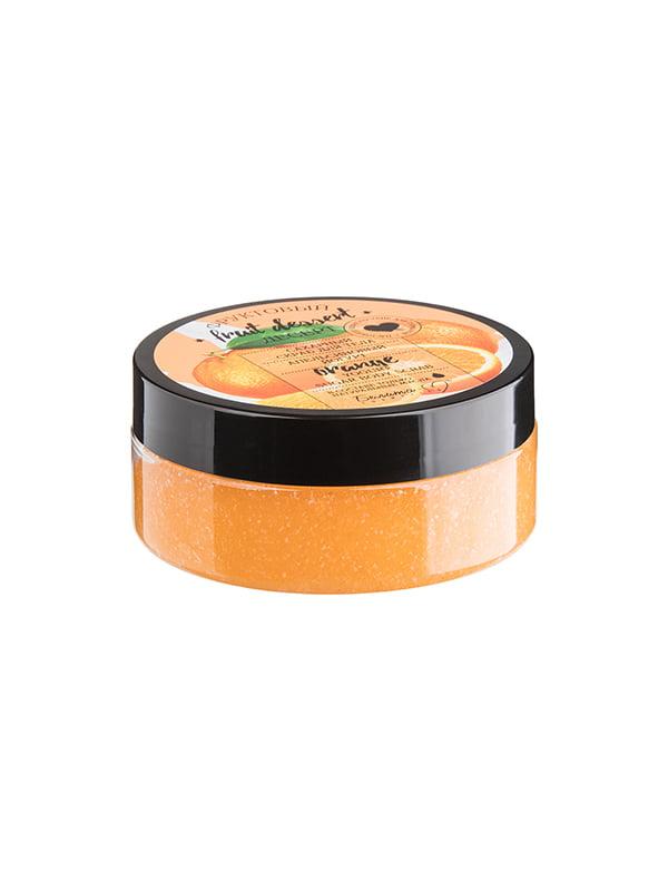Скраб цуровий для тіла «Апельсиновий йогурт» (200 г) | 4951742