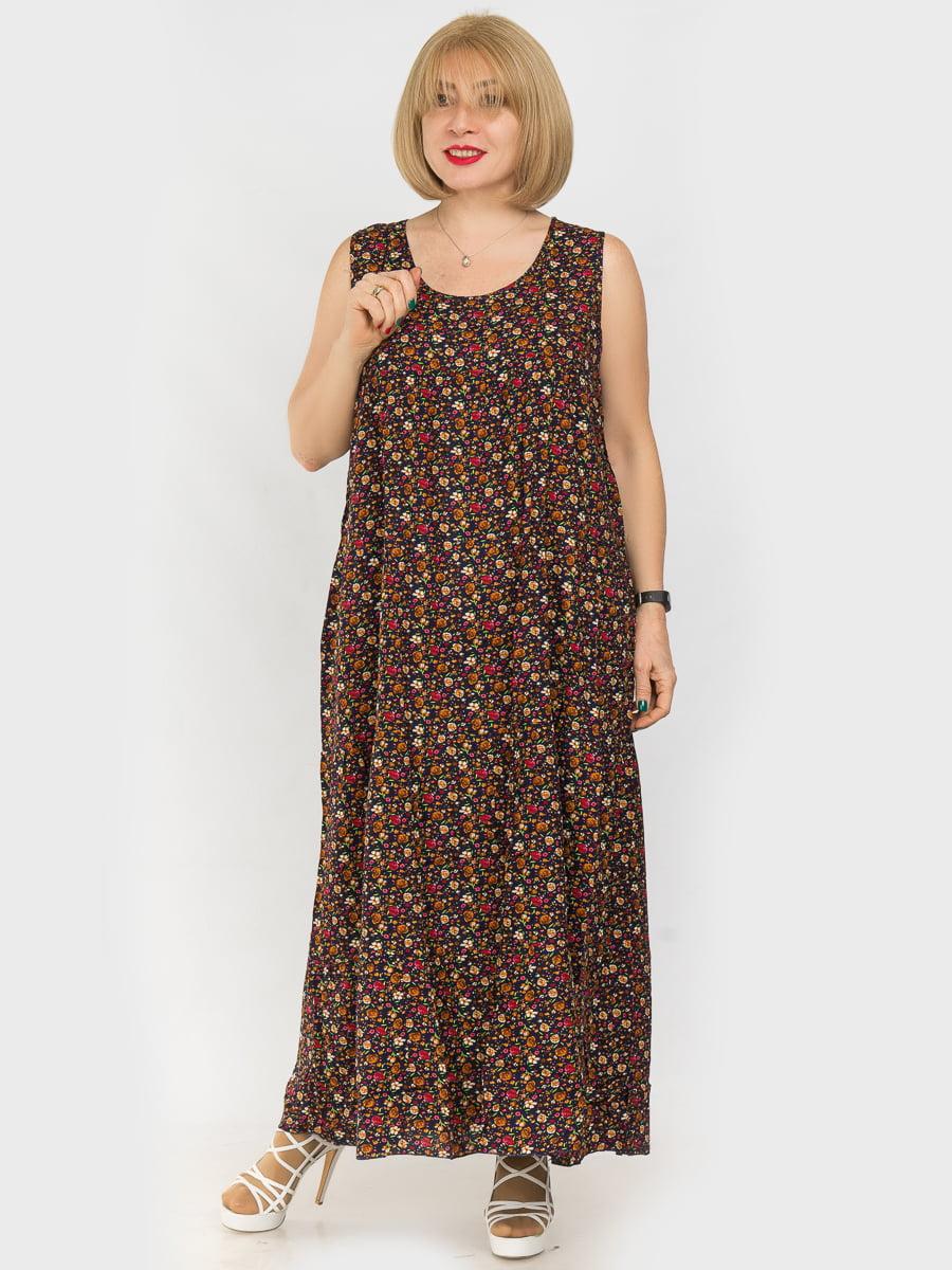 Платье в цветочный принт | 4962317